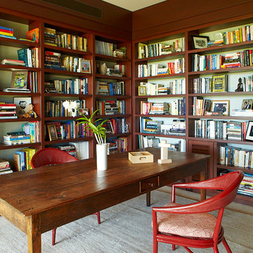 Oahu Beach Front Residence - Library & Office