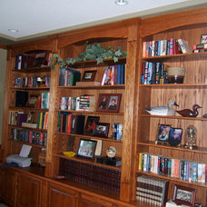Traditional Home Office Oak home office