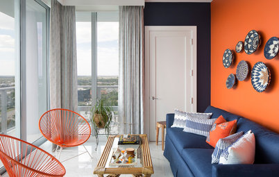 Houzz Tour: Breezy and Bold Condo in North Palm Beach