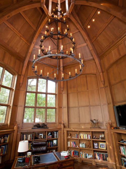 Library Home Office Design Ideas, Remodels & Photos