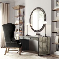 Traditional Home Office by Restoration Hardware