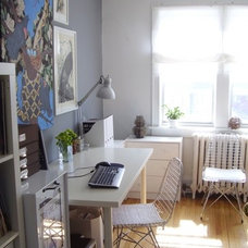 Eclectic Home Office offfice