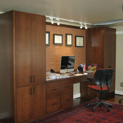 contemporary home office by J.S. Brown & Co.
