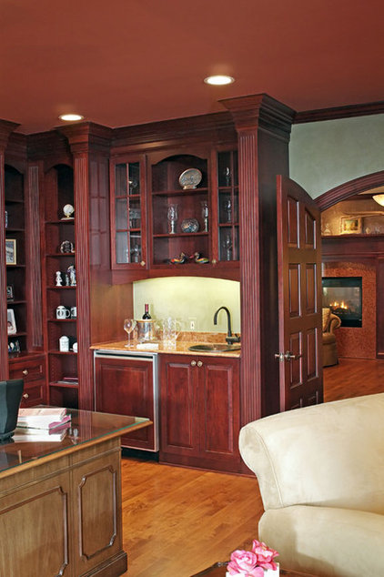 Traditional Home Office by J.S. Brown & Co.