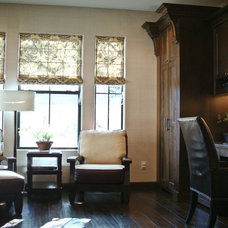 Traditional Home Office by Pankow Construction - Design/Remodeling - PHX, AZ
