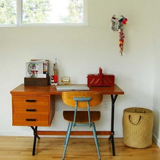 Eclectic Home Office by Aesthetic Outburst