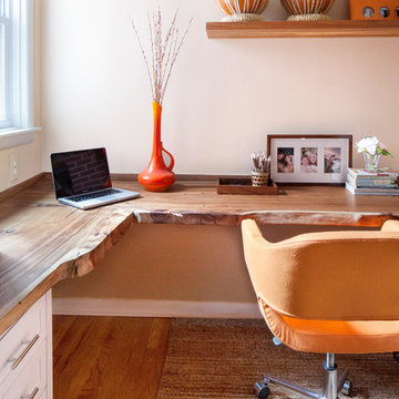 Office Alcove in Philly Rowhouse