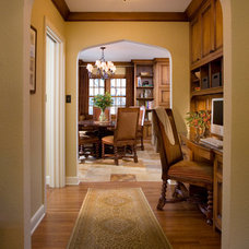 Mediterranean Home Office by Choice Wood Company