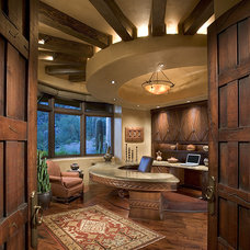 Southwestern Home Office by Bess Jones Interiors
