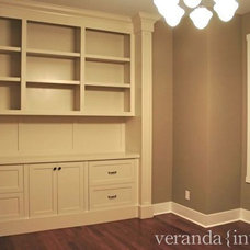 Traditional Home Office by Veranda Estate Homes & Interiors