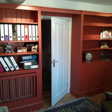 Traditional Home Office by SBT Design