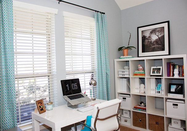 Eclectic Home Office by Casa Greer