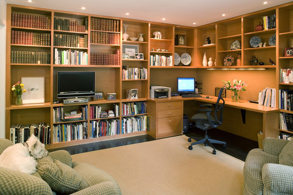 Contemporary Home Office by Choice Wood Company