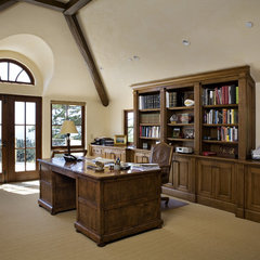 traditional home office by Claudio Ortiz Design Group, Inc.