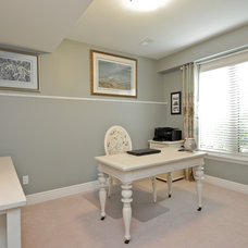 Traditional Home Office by Designing Durham