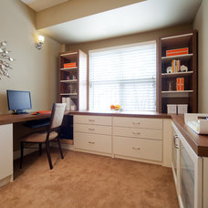 Traditional Home Office by For Space Sake
