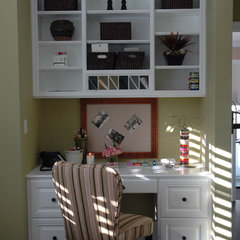 traditional home office by Dave Lane Construction Co.