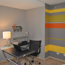 Contemporary Home Office by Distinct Designs - Jeanette Pierce, ASID