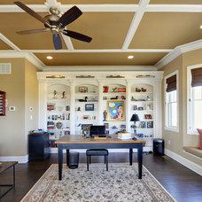 Home Office by Echelon Custom Homes