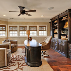 Traditional Home Office by Echelon Custom Homes