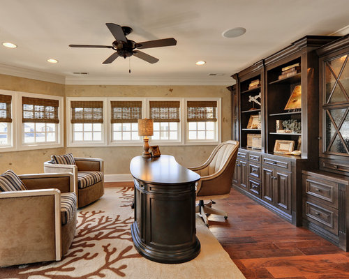 Best beautiful home offices design ideas remodel for Beautiful office pictures