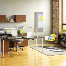 Contemporary Home Office by EcoNize Closets