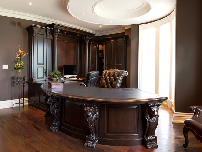 Traditional Home Office by Enns Cabinetry Inc.