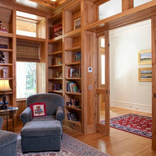Traditional Home Office by Frederick + Frederick Architects
