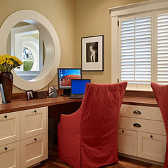 traditional home office by Gregory Carmichael