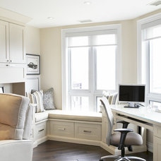 traditional home office by Jacqueline Glass and Associates