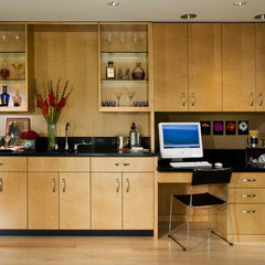 modern home office by Harrell Remodeling