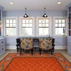 traditional home office by Hendel Homes