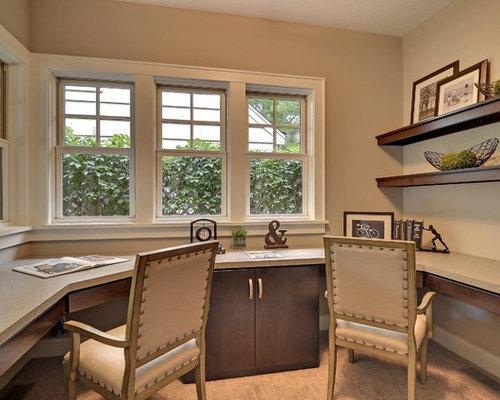 Pleasing Personal Office Design Ideas Remodel Pictures Houzz Largest Home Design Picture Inspirations Pitcheantrous