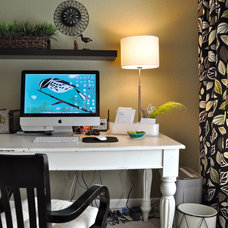 Eclectic Home Office Office