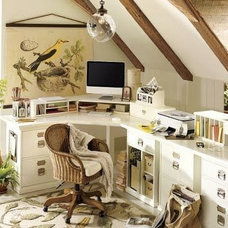Traditional Home Office by San Francisco Organized Interiors