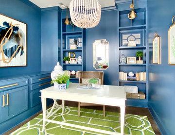 Office In Blue
