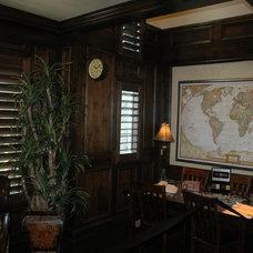 Traditional Home Office by Joe Carrick Design - Custom Home Design