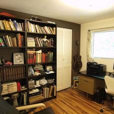 Midcentury Home Office by John Prindle
