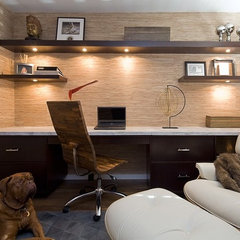 contemporary home office by Nirmada Interior Architectural Design