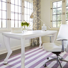 Contemporary Home Office by Martha O'Hara Interiors