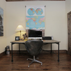 Industrial Home Office by Lindsay von Hagel