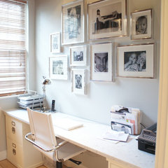 modern home office by Melissa Miranda Interior Design