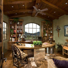 Traditional Home Office by Mooney Design Group, Inc.