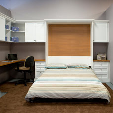 Traditional Home Office by California Closets San Diego
