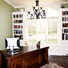 Traditional Home Office by Noah Herman Sons Builders