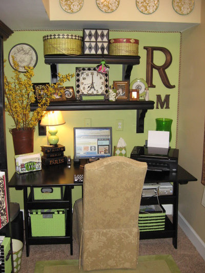 Traditional Home Office by Southern Hospitality
