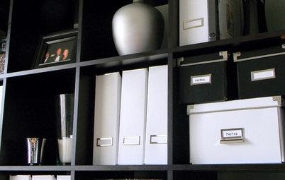もう困らない、書類の整理収納と保管のシステム