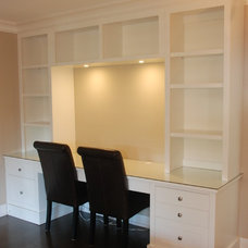 Contemporary Home Office by Out Of Line Designs