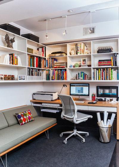 Modern Arbeitszimmer by Patrick Brian Jones PLLC