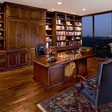 Traditional Home Office by The Vaughan Group
